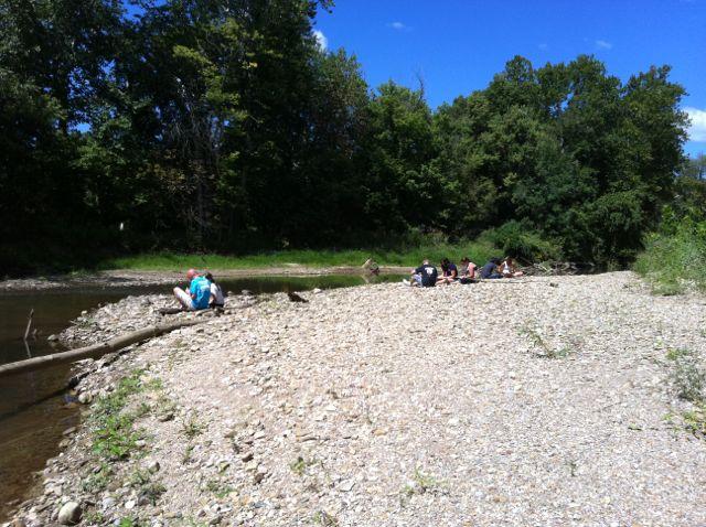 The gravel bars of Raccoon Creek - RC_7.jpg - Image #0
